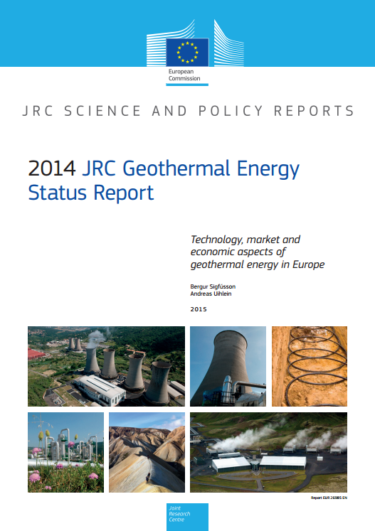 2014 JRC Geothermal Energy Status Report