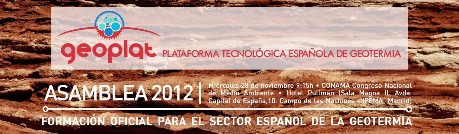 Asamblea GEOPLAT 2012 – Documentación disponible