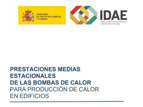 (Español) PRESTACIONES MEDIAS ESTACIONALES DE LAS BOMBAS DE CALOR PARA PRODUCCIÓN DE CALOR EN EDIFICIOS