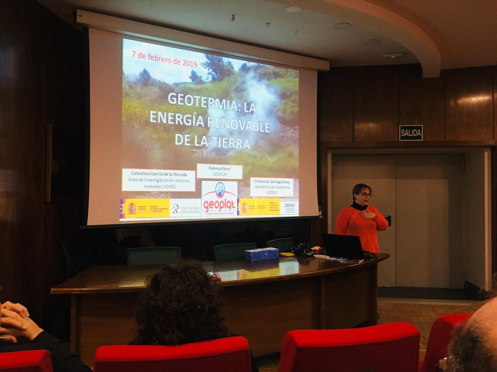 GEOPLAT acerca a los estudiantes a la geotermia