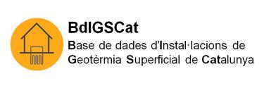 BdIGSCat : Base de datos de Instalaciones de Geotermia Superficial de Cataluña