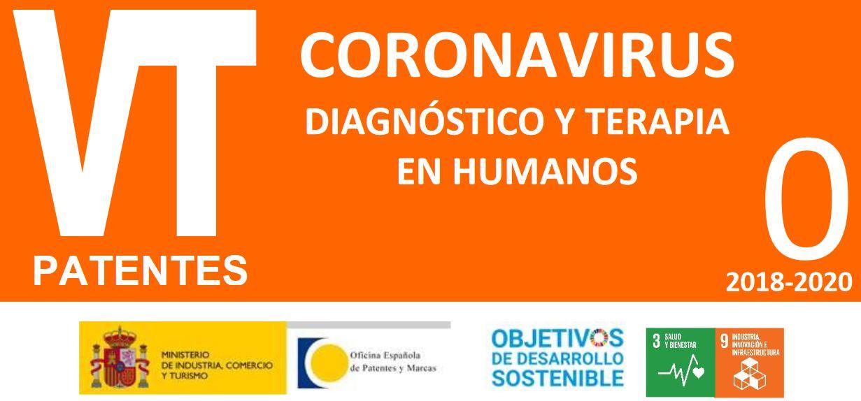 """La OEPM lanza un nuevo Boletín de Vigilancia Tecnológica y una nueva Alerta Tecnológica sobre """"Coronavirus: diagnóstico y terapia en humanos"""""""