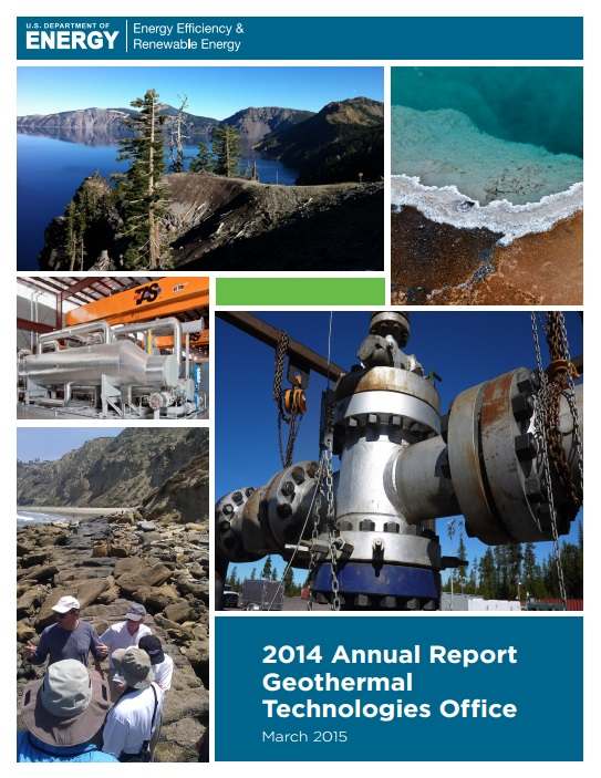 Geothermal Technologies Office 2014 del US DOE