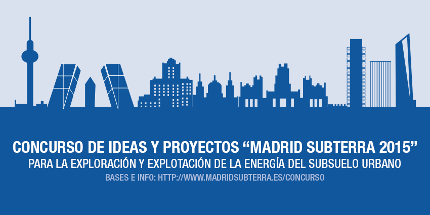 Primer Concurso de Ideas y Proyectos para aprovechar la energía del subsuelo urbano