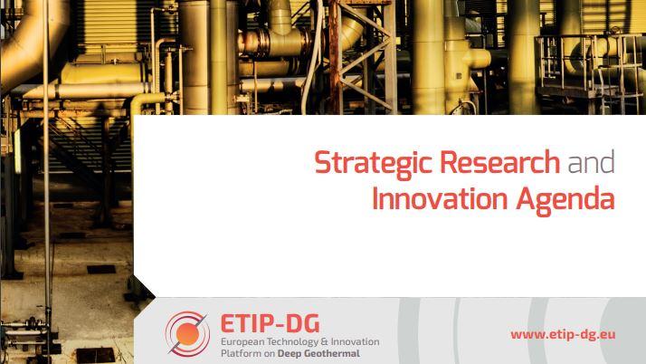 Publicada la Agenda Estratégica de Investigación e Innovación en Geotermia Profunda de ETIP-DG