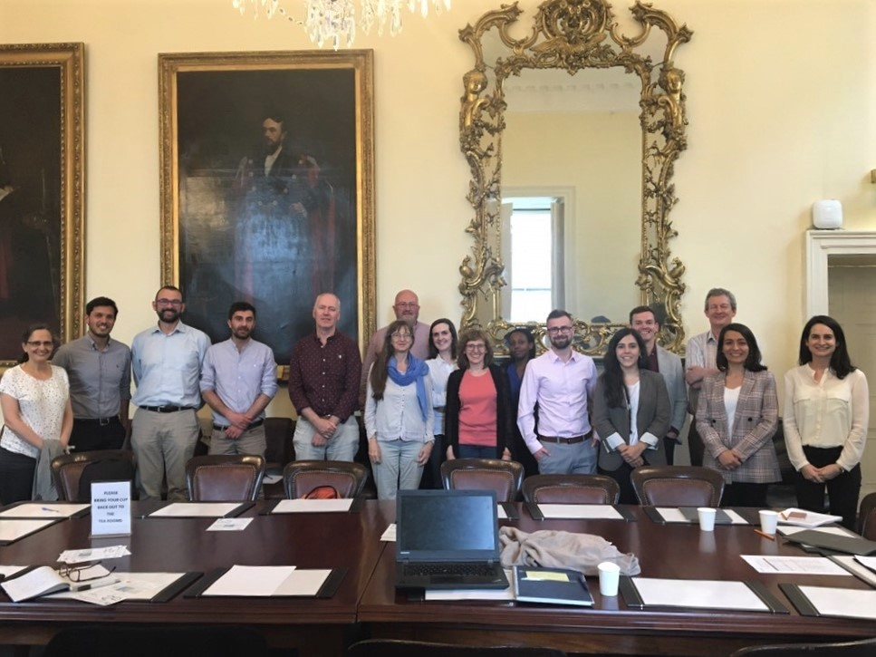 Consortium partners gathered during the kick-off meeting in Dublin, Ireland.