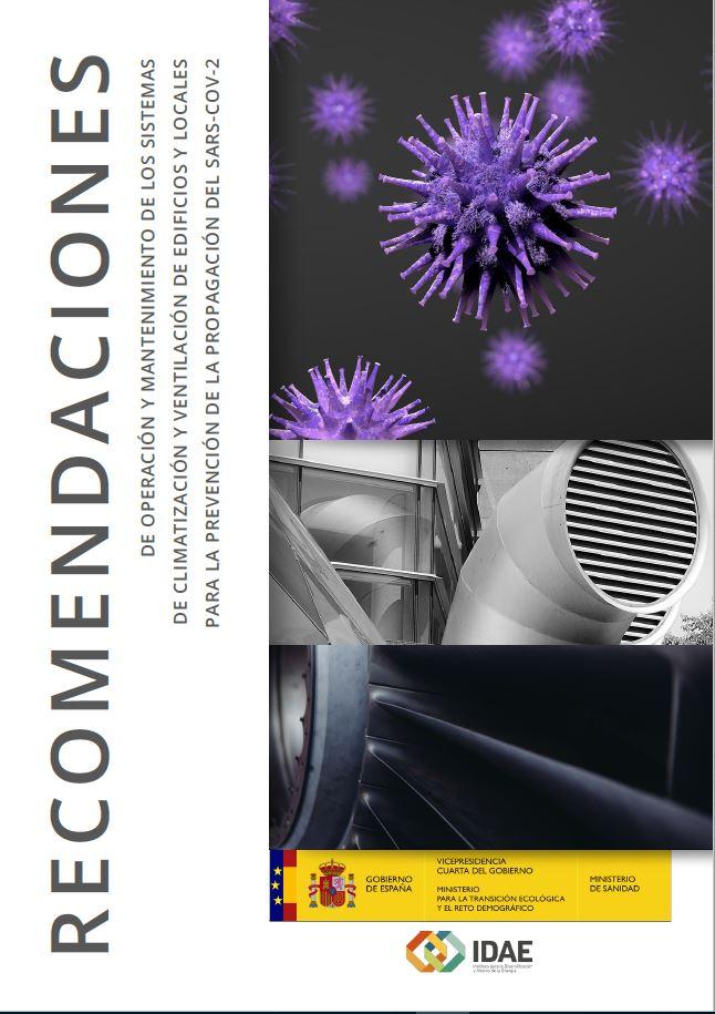 El Gobierno publica recomendaciones sobre el uso de sistemas de climatización y ventilación para prevenir la expansión del COVID-19