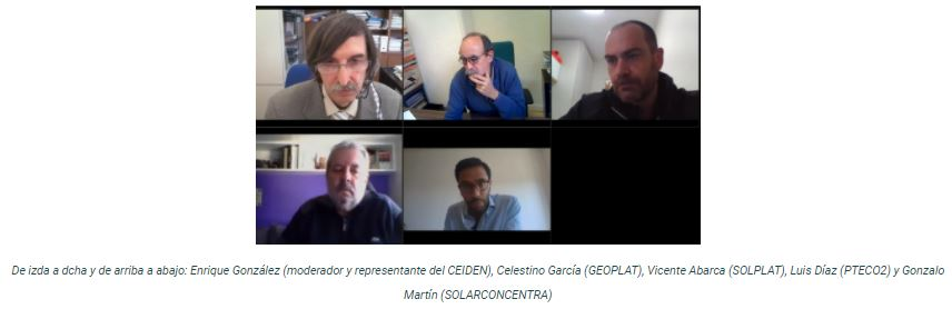 """Documentación disponible – II Encuentro CCPTE """"La tecnología española en el escenario de transición energética y globalización de la economía"""" (15 oct 2020)"""