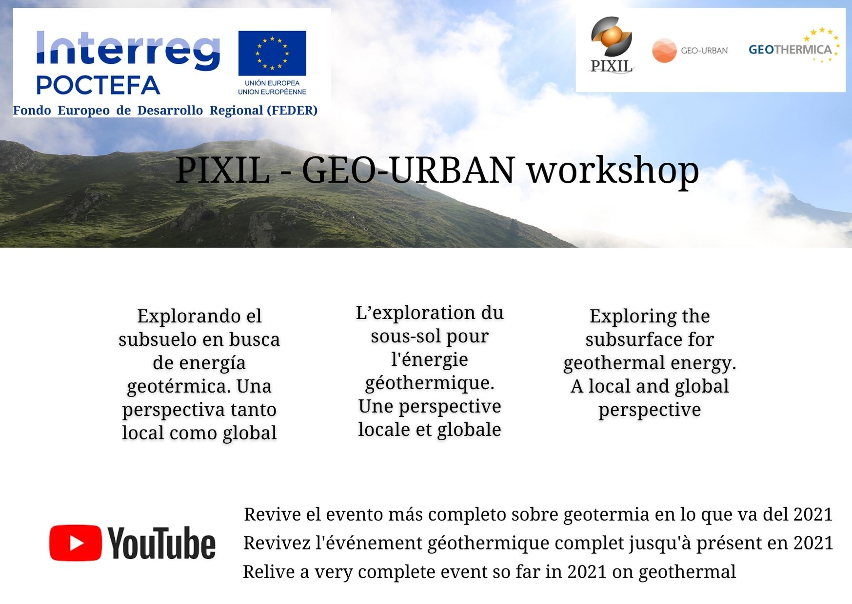 One of the great events about geothermal energy is available